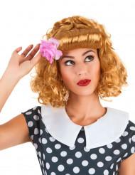 Retro redhead peruk för vuxna