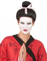 Geisha-inspirerad uppsatt peruk för vuxna