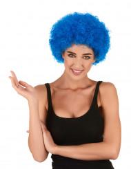 Blå Clownperuk Vuxen