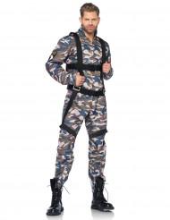 Maskeraddräkt militär vuxen