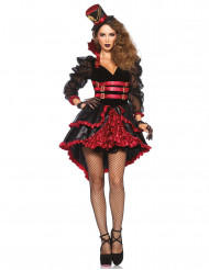 Sexig spetsklädd vampyr - Utklädnad till Halloween för vuxna