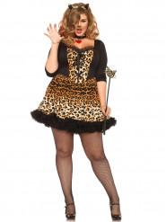 Sexig katt med leopardmönster- Maskeradkläder för vuxen