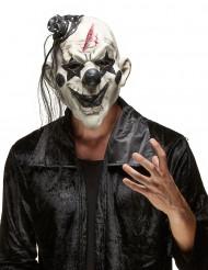 Skrämmande Rockclownmask Halloween Vuxen
