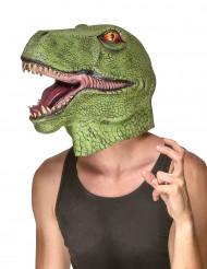 Dinosauriemask i Latex Vuxen