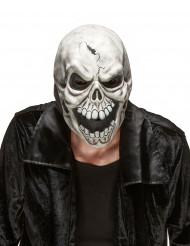 Skrämmande Döskallemask i Latex Halloween