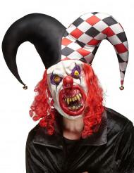 Skrämmande Jokermask i Latex Halloween Vuxen