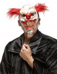 Ond Clownmask Halloween Vuxen