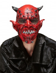 Demonmask i Latex Halloween Vuxen