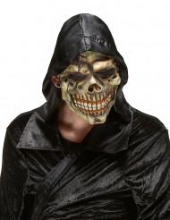 Helvetets döskallemask i Latex för vuxna till Halloween