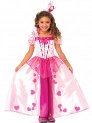 Rosa prinsessdräkt för barn till maskeraden