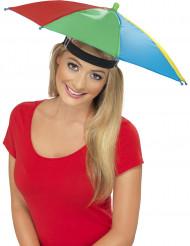 Mångfärgad Paraplyhatt Vuxen