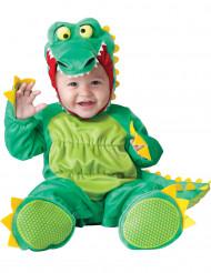 Krokodildräkt bebis - Lyx