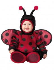 Premium röd nyckelpiga - utklädnad bebis