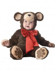 Björnunge dräkt bebis - Lyx