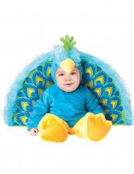 Premium påfågel - utklädnad bebis