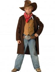 Cowboydräkt barn - Premium
