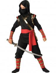 Skuggan i natten - Premium ninjadräkt för barn