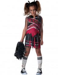 Cheerleader-zombie - Halloweenkläder för barn