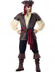 Premium Pirat - utklädnad för vuxen