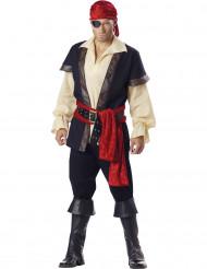 Pierre den otäcke - Premium piratdräkt för vuxna