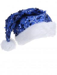 Julmössa med Blåa Paljetter Vuxen