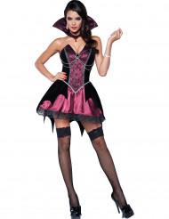 Vampyr donna - Premium maskeraddräkt för vuxna till Halloween