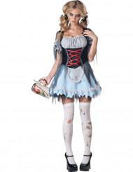 Premium söt zombie - utklädnad vuxen