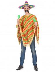 Chili poncho maskeraddräkt