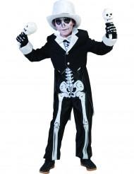 Skelettdräkt barn
