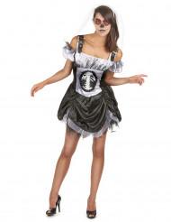 Chic maskeraddräktSkelettvuxen Halloween