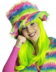 Regnbågefärgad Mjuk Hatt Vuxen