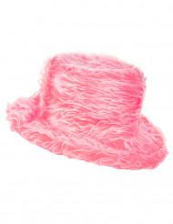 Rosa Mjuk Hatt Vuxen