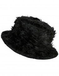 Svart Mjuk Hatt Vuxen