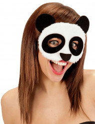 Mjuk Pandamask Vuxen