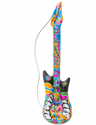 Uppblåsbar gitarrHippie105 cm