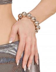 Discokula silverarmband