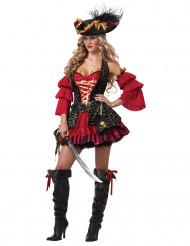 Piratdräkt för kvinnor - Premium