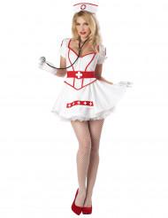Het sjuksköterska - Maskeraddräkt för vuxna