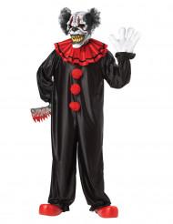 Skräckinjagande kostym Clown för vuxna