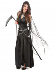 Liekvinna - utklädnad vuxen Halloween