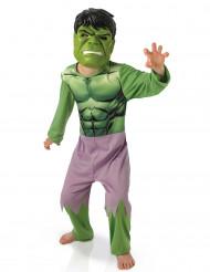 Dräkt Hulk + barnmask - Avengers™