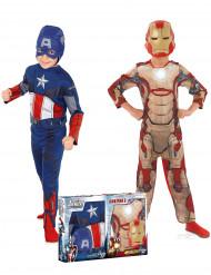 Förpackning med kostymCaptain America™&Iron man™- Avengers™