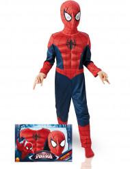 Maskeraddräkt deluxe 3D EVA Spiderman™ barn