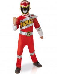 Maskeraddräkt deluxe röd Power Rangers™ barn