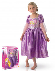 Maskeraddräkt lyx Love heart Rapunzel™ box