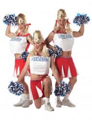 Rolig Cheerleader - utklädnad vuxen