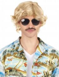 Blond 70-tals peruk vuxen