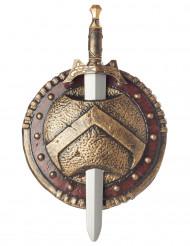 SpartaSköldoch svärd i plast
