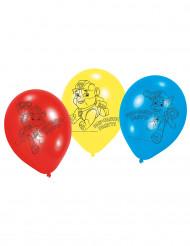 6 Paw Patrol™ latexballonger i latex