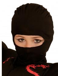 Svart ninjahuva barn